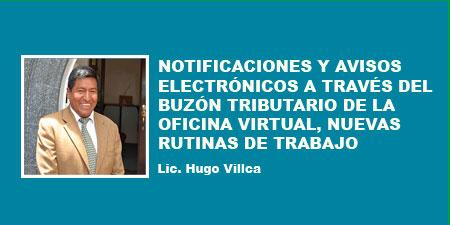 NOTIFICACIONES Y AVISOS ELECTRÓNICOS A TRAVÉS DEL BUZÓN TRIBUTARIO DE LA OFICINA VIRTUAL