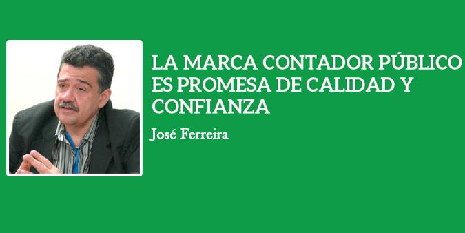 LA MARCA CONTADOR PÚBLICO ES PROMESA DE CALIDAD Y CONFIANZA