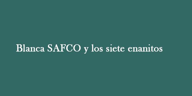 Blanca SAFCO y los siete enanitos
