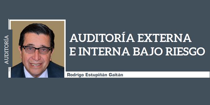 AUDITORÍA EXTERNA E INTERNA BAJO RIESGO